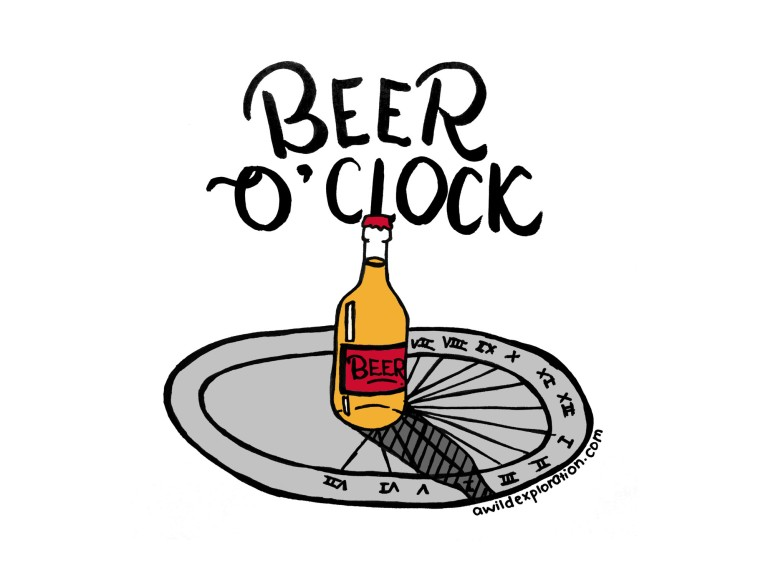 Beer o clock, New word in Oxford Dictionaries