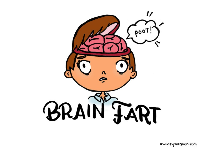 Brain Fart, New word in Oxford Dictionaries